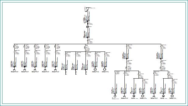 CYPELEC RETIE. Instalaciones eléctricas de baja tensión. Planos
